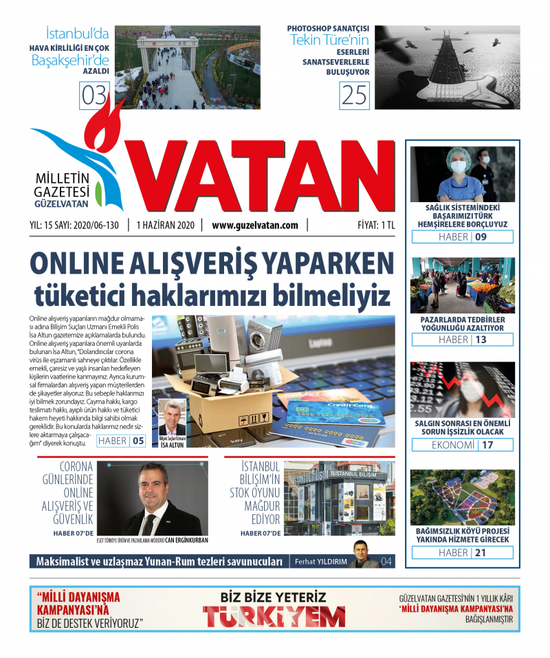 GüzelVatan E-Gazete - Haziran 2020