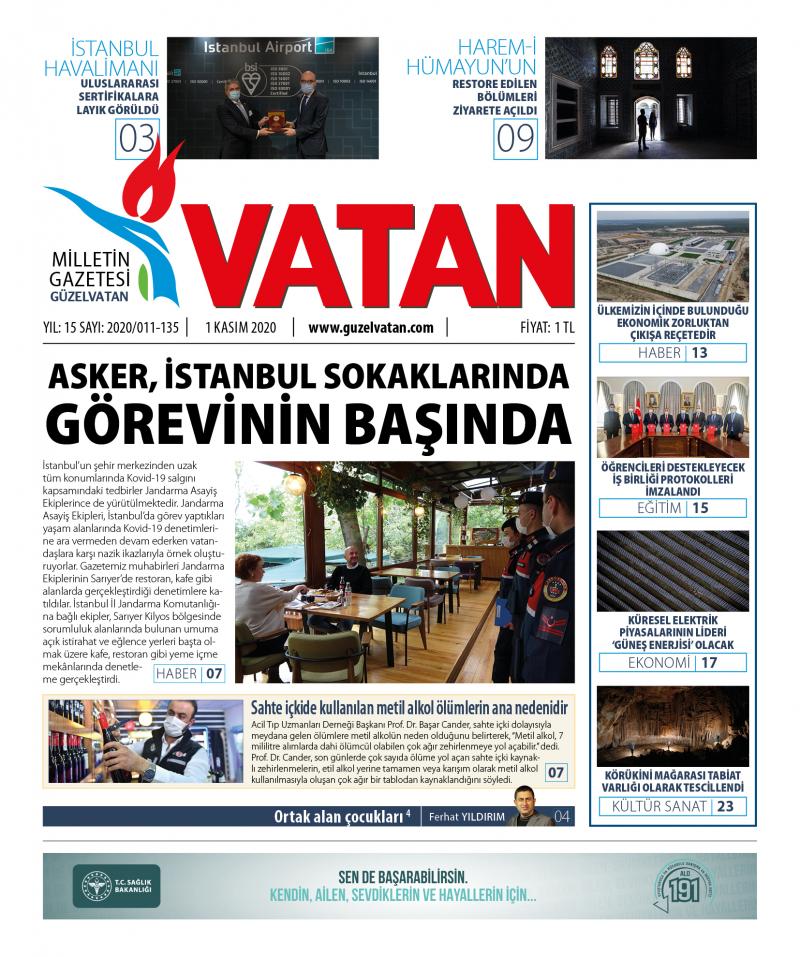 GüzelVatan E-Gazete - Kasım 2020