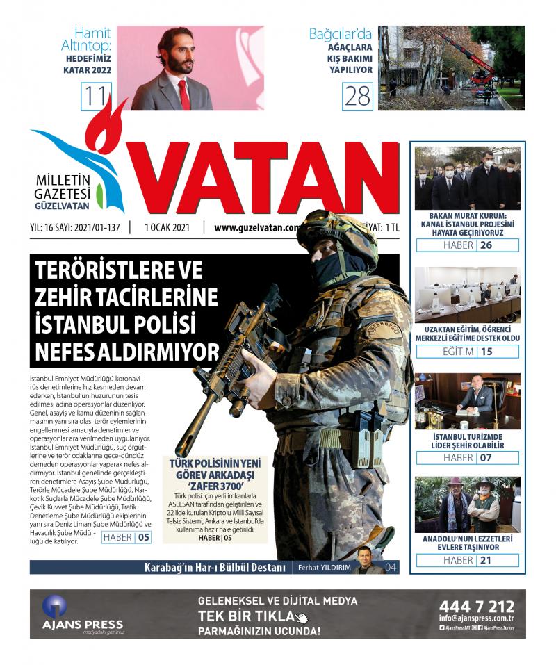 GüzelVatan E-Gazete - Ocak 2021