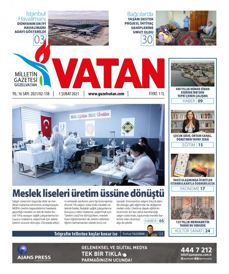 GüzelVatan E-Gazete - Şubat 2021
