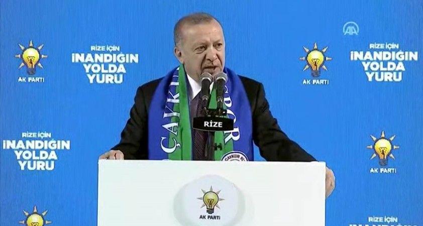 Cumhurbaşkanı Erdoğan: Askerimizin karşısında duramayan terör örgütü alçaklıkta sınır tanımıyor