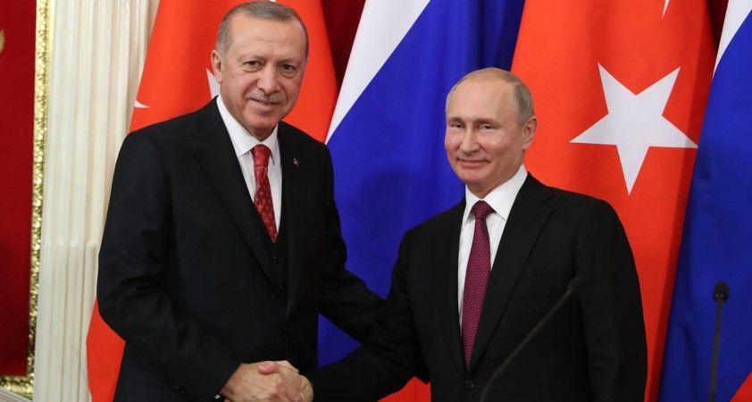 Erdoğan ile Putin arasındaki görüşme sona erdi