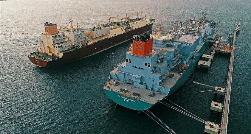 Türkiye'nin sıvılaştırılmış doğal gaz ithalatında sert düşüş