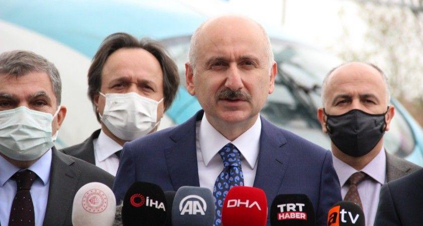 Bakan Karaismailoğlu, Konya-Karaman YHT Hattının test sürüşüne katıldı