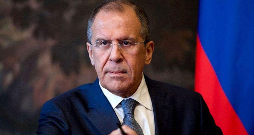 Lavrov: Türkiye'yle İdlib'e ilişkin yaptığımız anlaşmanın tamamıyla uygulanmasında ısrarcı olacağız