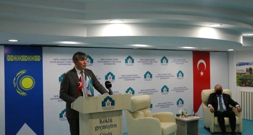 Kazakistan Büyükelçisi Saparbekuly: 'Türkiye ile Kazakistan dosttan öte bir kardeştir'