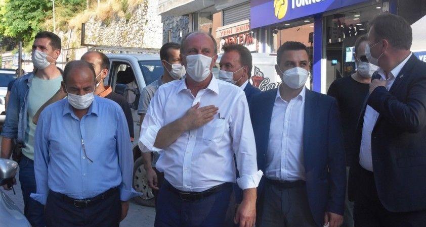 Muharrem İnce Bitlis'te esnafı ziyaret etti