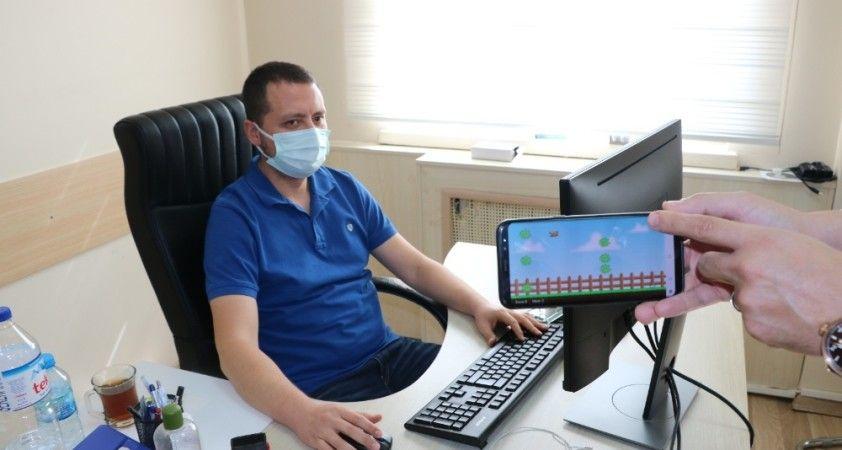 Bilgisayar mühendisi korona virüs oyunu geliştirdi