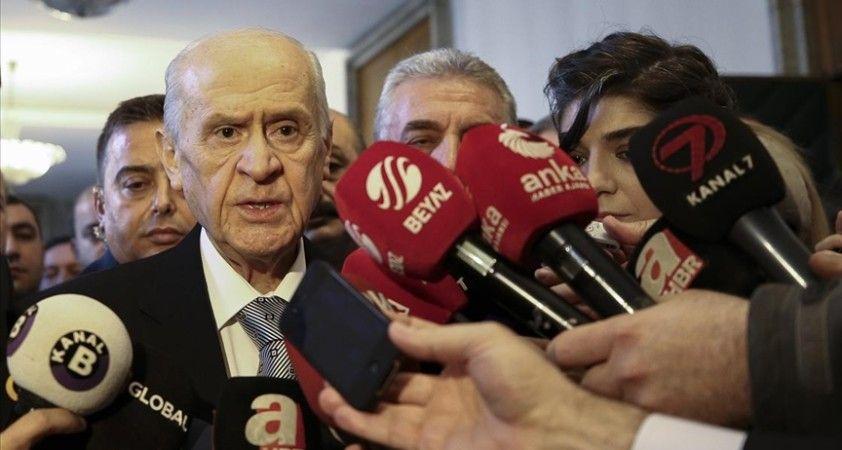 Bahçeli, Berberoğlu ile ilgili yargı kararını değerlendirdi: İnfazın durdurulmasına karşıyız