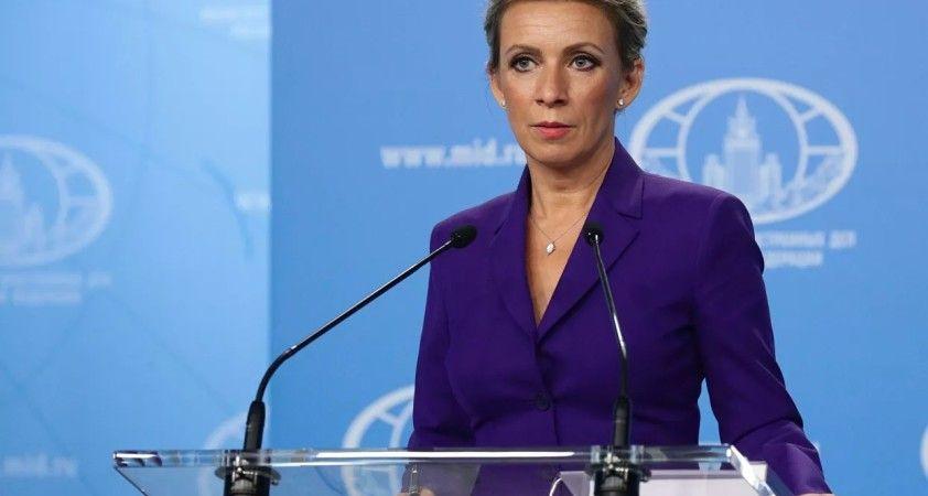 Zaharova: İngiliz istihbaratı, yabancı ajan ilan edilen bazı Rus medya kuruluşlarıyla işbirliğinde
