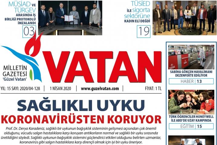 Güzel Vatan E-Gazete - Nisan 2020 Sayı:127