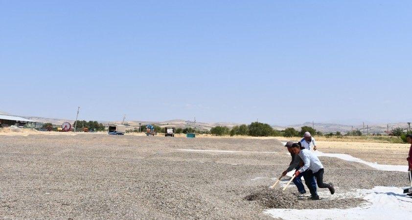 Tunceli'de ürün hasadı çiftçilerin yüzünü güldürdü