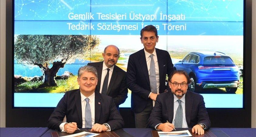 TOGG Gemlik tesisinin üstyapı inşaatı için imzalar atıldı