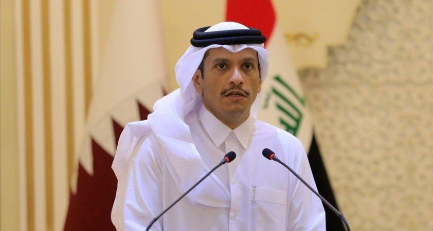 Katar Dışişleri Bakanı: İsrail saldırılarının durdurulması gerekiyor