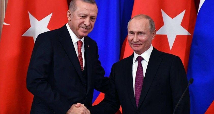 Rusya Devlet Başkanı Putin Dağlık Karabağ toplantısıyla ilgili Cumhurbaşkanı Erdoğan'ı bilgilendirdi