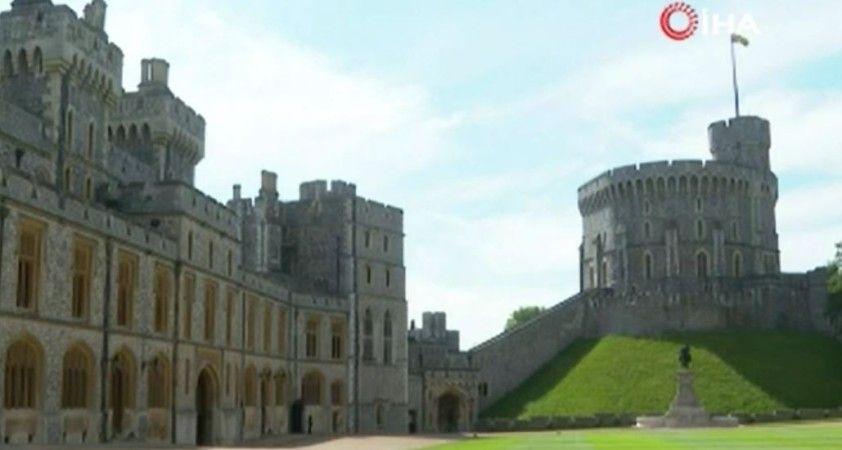 Merkel ve İngiltere Kraliçesi, Windsor Kalesi'nde bir araya geldi