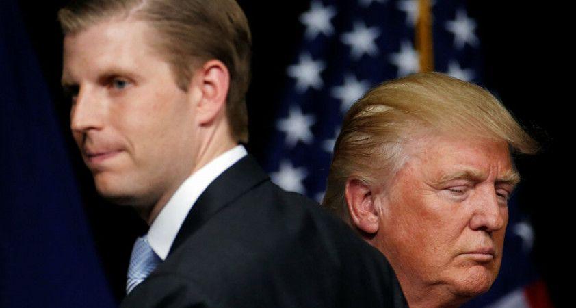 Eric Trump: Babam başkan olabilmek için bir servet kaybetti