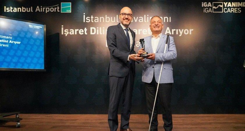 İstanbul Havalimanı 'İşaret Dilini' seçti