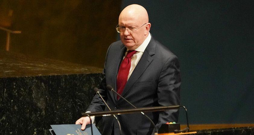 Rusya'nın BM Daimi Temsilcisi Nebenzya: Moskova, Kimyasal Silahların Yasaklanması Örgütü'nden çıkmayı düşünebilir