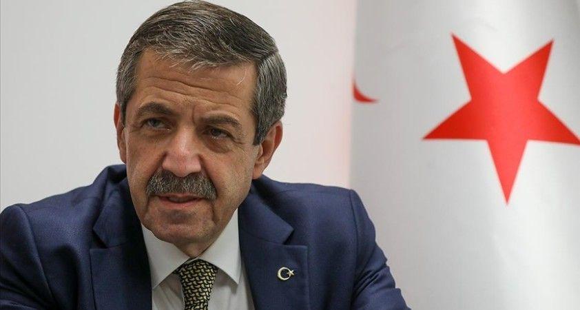 KKTC Dışişleri Bakanı Ertuğruloğlu: BM'den çok fazla bir beklentimiz yok