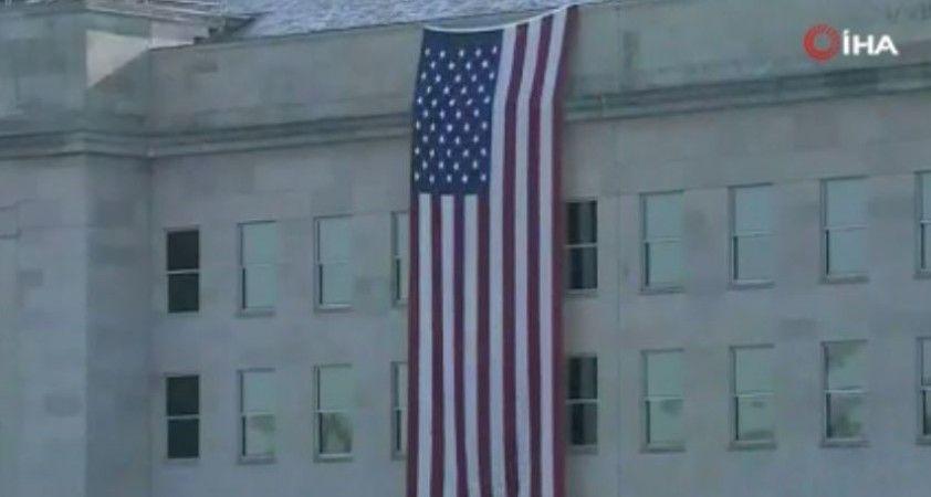 ABD'de 11 Eylül'ün 20. yıl dönümünde saldırıda ölenler Pentagon'da anıldı