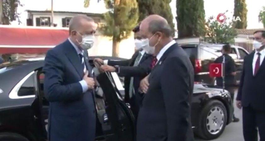 KKTC Cumhurbaşkanı Tatar'dan Erdoğan onuruna akşam yemeği