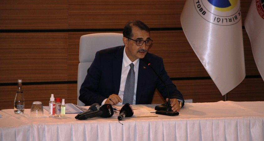 """Bakan Dönmez: """"Belediye başkanları doğal gaz çalışmalarına destek vermeli"""""""