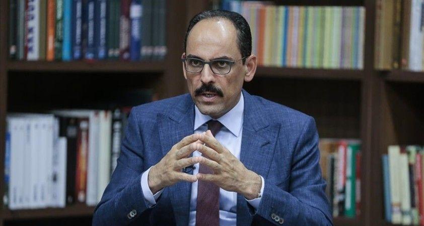 Cumhurbaşkanlığı Sözcüsü Kalın: Türkiye büyüdüğü zaman bundan herkes istifade ediyor
