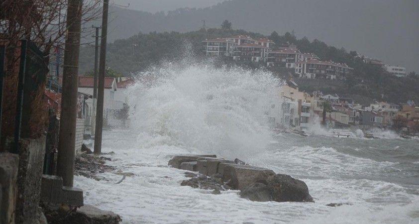 Meteoroloji, Batı Karadeniz, Marmara ve Kuzey Ege için fırtına uyarısında bulundu