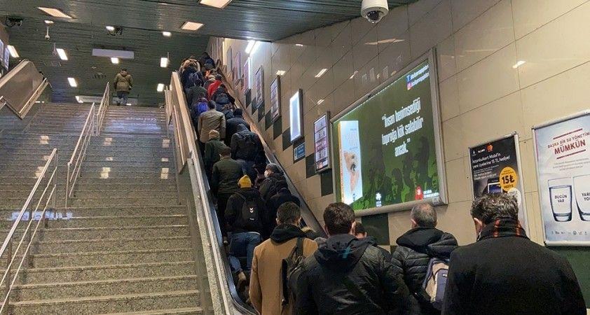 İstanbul'da metro seferlerine düzenleme