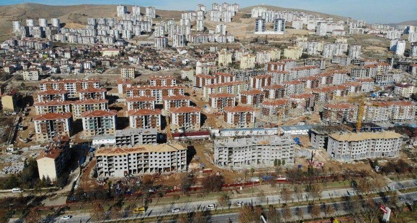 Elazığ'da deprem sonrası yapılan konutlar 100 bin kişiye sıcak yuva olacak