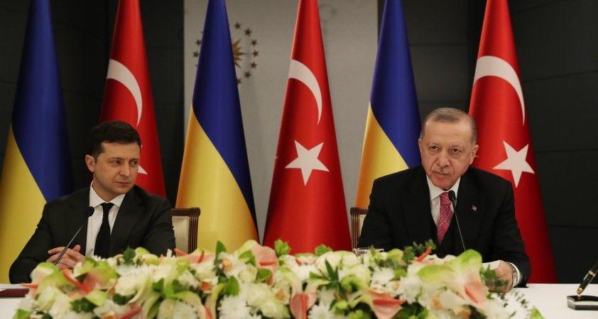 """Zelenskiy: """"Türkiye'nin toprak bütünlüğümüzün yeniden tesisindeki desteği son derece önemlidir"""""""