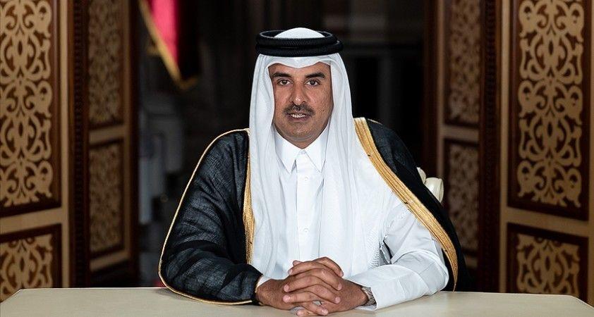 Katar Emiri Al Sani Suudi Arabistan'daki 41. KİK Zirvesi'ne katılacak