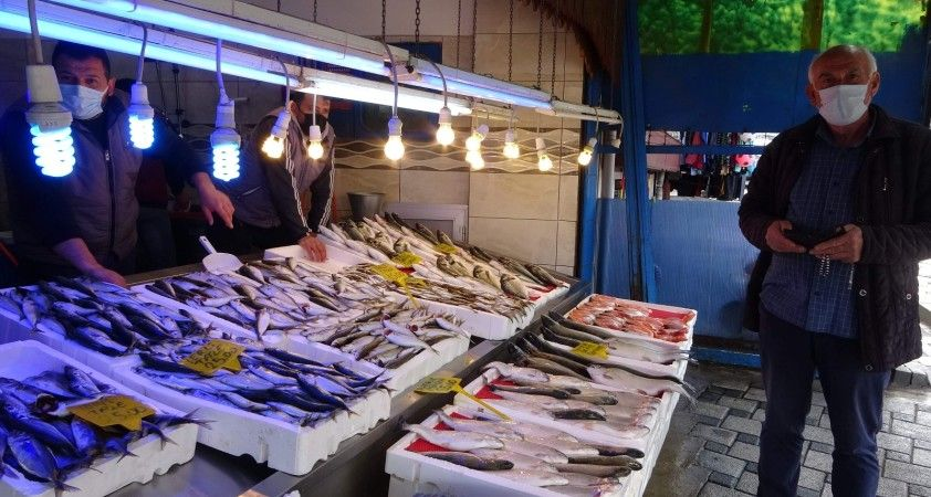Trabzon'da Ramazan'ın ilk günü balığa rağbet yok