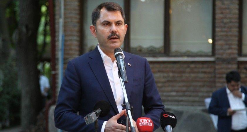 """Bakan Kurum: """"AK Parti, Türkiye'nin en büyük ailesidir"""""""