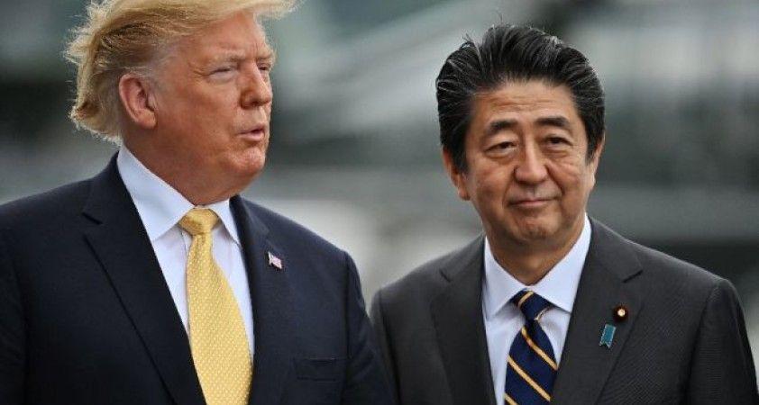 Trump'tan istifa eden Abe'ye: Japonya'nın en iyi başbakanı