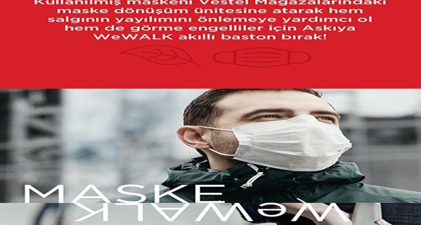 Maske Dönüşüm Ünitesi projesi hayata geçirildi