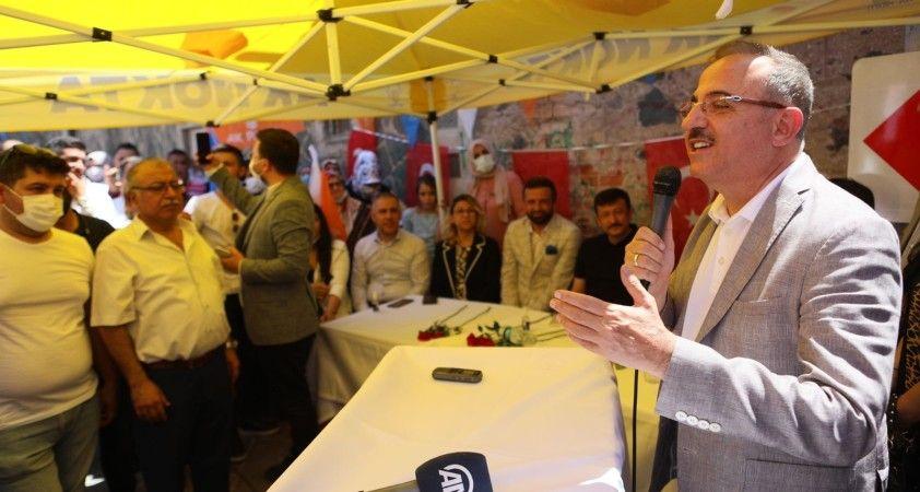 AK Parti'den İzmir'de yoğun hafta sonu mesaisi