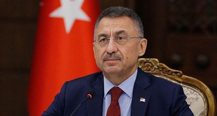 Cumhurbaşkanı Yardımcısı Oktay İzmir'deki sel felaketi nedeniyle 'geçmiş olsun' mesajı yayımladı