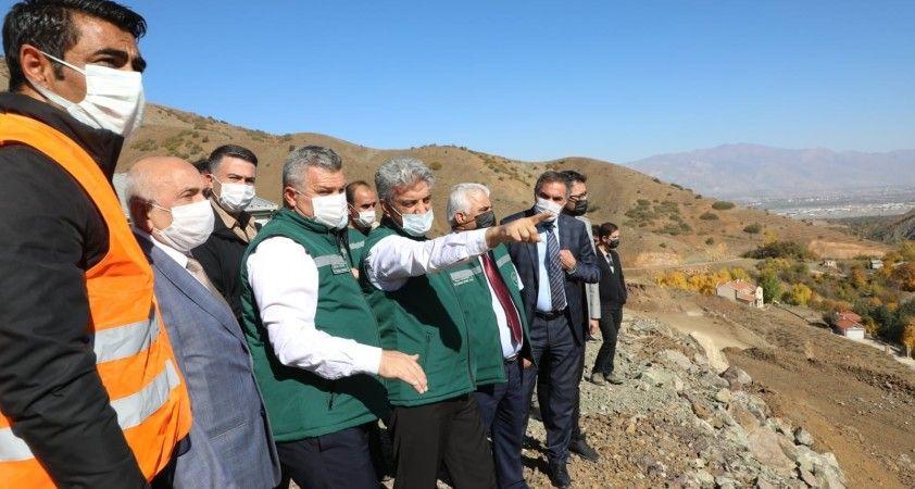 Ballı Barajının tamamlanmasıyla 10 bin 410 dekarlık alanda sulu tarım yapılabilecek
