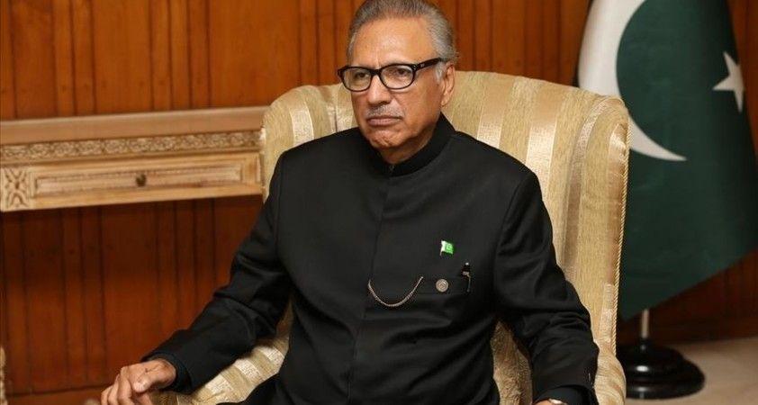 Pakistan Cumhurbaşkanı Alvi, Hindistan'ı İslamabad ile Kabil arasındaki ilişkileri bozmaya çalışmakla suçladı