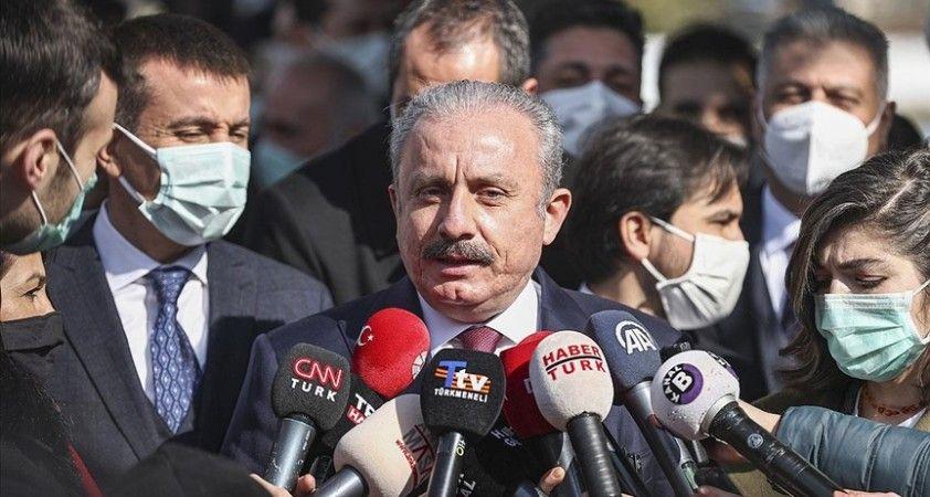 TBMM Başkanı Şentop: HDP'li vekillerle ilgili henüz Meclis'e ulaşmış fezleke yok