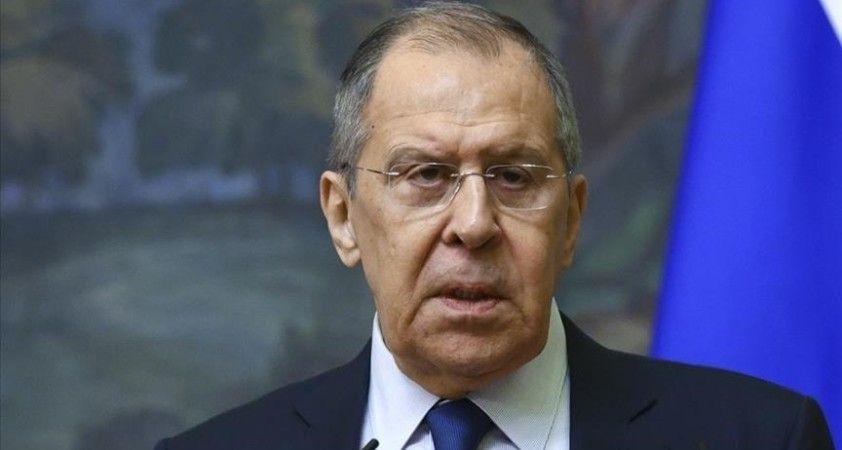Rusya Dışişleri Bakanı Lavrov: ABD'nin Afganistan'daki misyonu çöktü