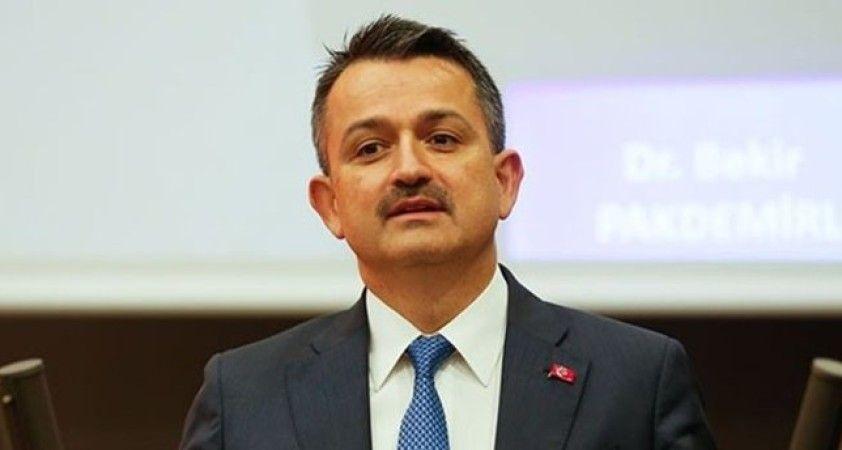 Bakan Pakdemirli: 'Su Kanunu'nu da Türkiye Büyük Millet Meclisi'ne sunmak istiyoruz'