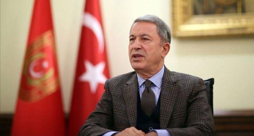 Milli Savunma Bakanı Akar, 30 Ağustos Zaferi dolayısıyla mesaj yayımladı