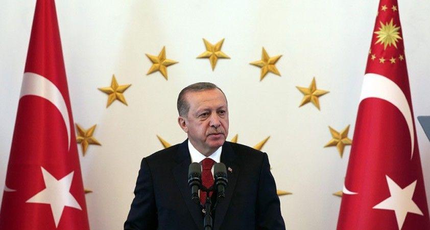 Cumhurbaşkanı Erdoğan'dan İsrail'in Filistin'e düzenlediği alçak saldırıya kınama