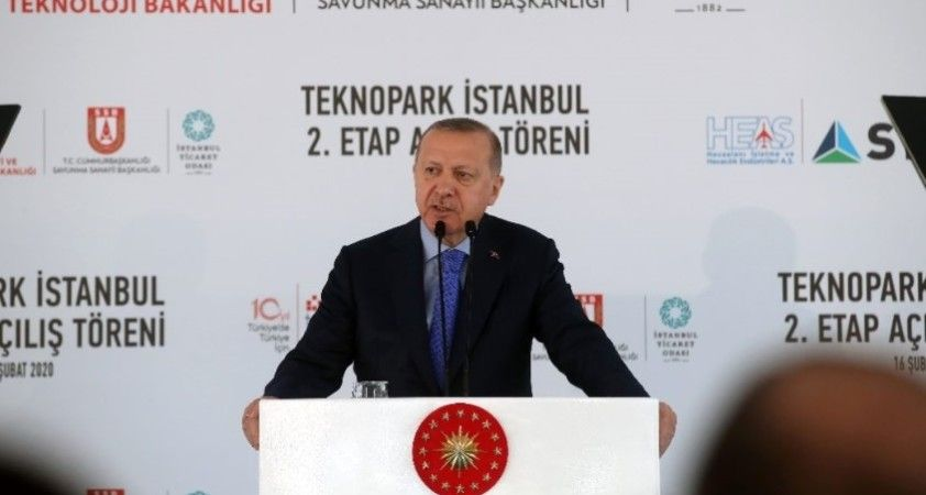 Cumhurbaşkanı Erdoğan: 'Girişimci üzerine düşeni yapsın sonra geç kalırsınız'