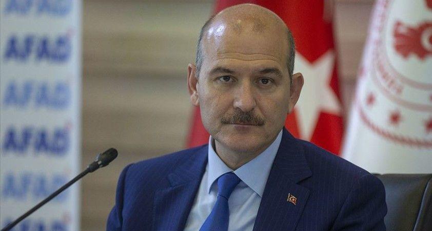 İçişleri Bakanı Süleyman Soylu: '15 dakikada 175 kilogramlık bir yağmur'