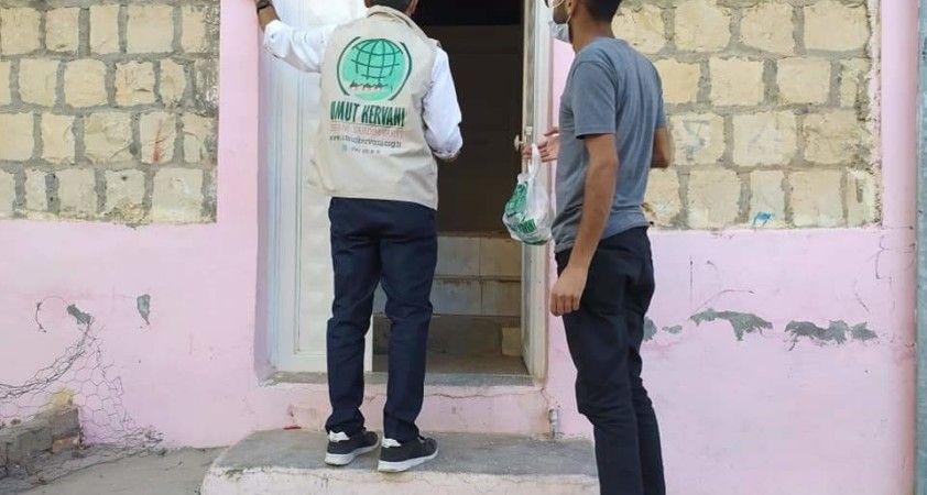 Mardin Umut Kervanı'ndan 90 aileye kırmızı et paketi
