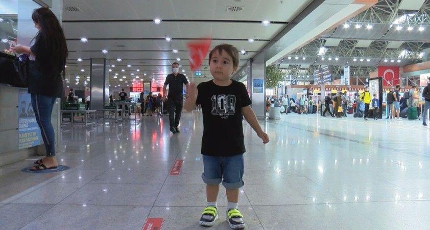 Sabiha Gökçen Havalimanı'nda 30 Ağustos kutlaması